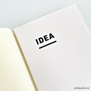 jibun techo idea book
